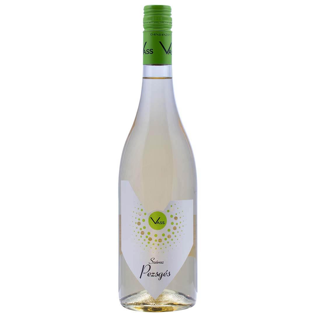 Száraz Pezsgés Saugvignon Blanc fehér gyöngyözőbor