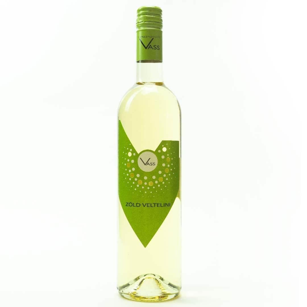 Zöld Veltelin száraz fehérbor